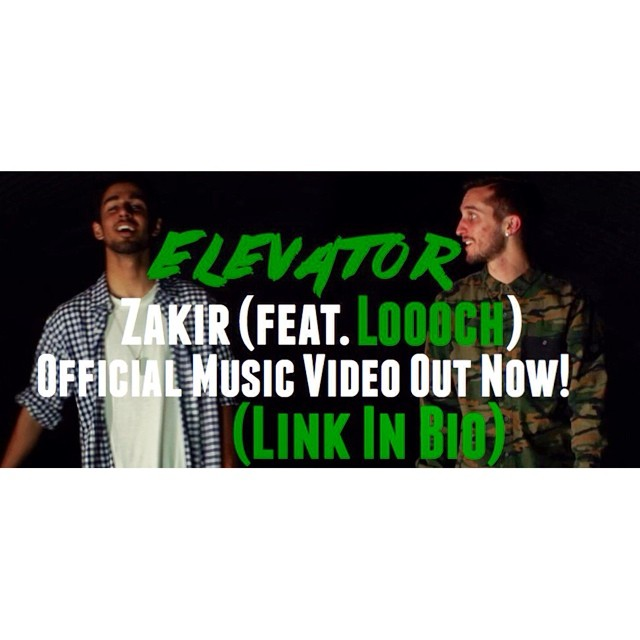 """The official music video for my 2nd single """"Elevator"""" (feat. Loooch) is now LIVE on YouTube! Check it out: youtu.be/uU6kyykDoVk (Link in bio)"""