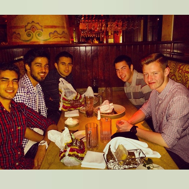 Birthday dinner with the homies. Thank you to everyone for the wishes!