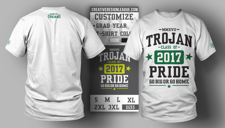 Trojan Pride Custom T-Shirt — Creative Design League