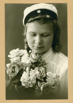 Lea Wikman - photo provided to us by her son Carl during construction of The Hallowed Halls