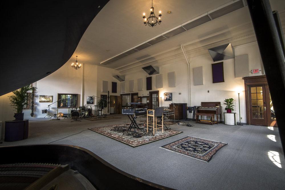 Studio A Live Room (alternate view)