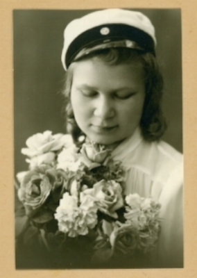 Lea Wikman (photo provided to us by her son, Carl, during construction of The Hallowed Halls)