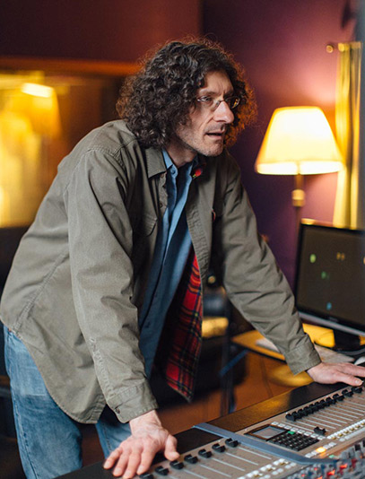 Accomplished audio engineer, David Streit has recorded over fourty albums in The Hallowed Halls.