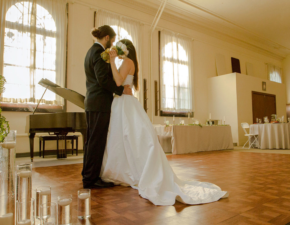 Have your first dance as a couple in The Hallowed Halls.