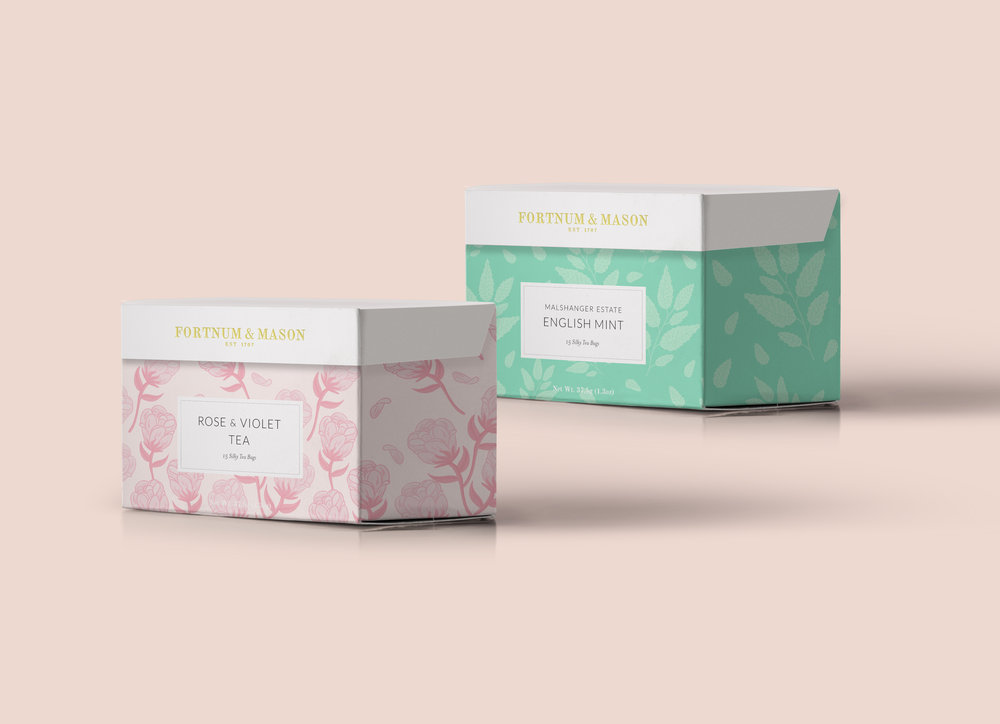 Packaging design mock-up