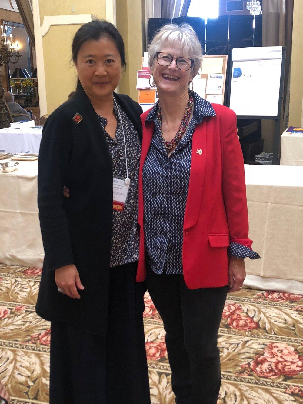 Dr Paula Lum, AMERSA Conference, San Francisco, 2018