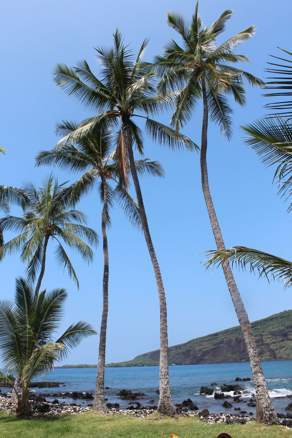 Manini Beach on the Big Island of Hawaii