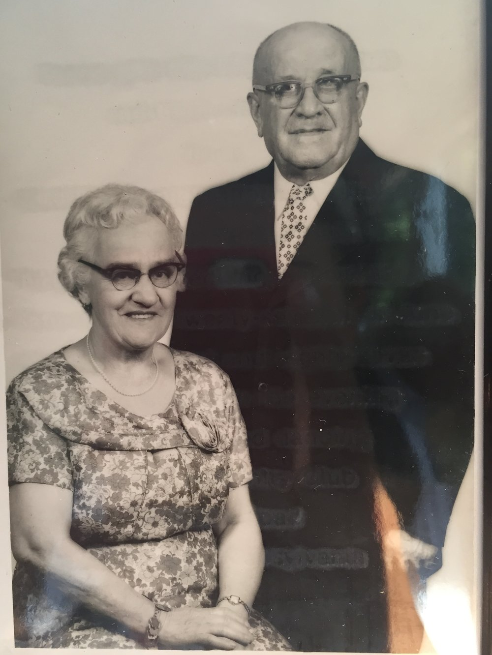 my Italian great-grandparents,  Nicola and Jennie Romito