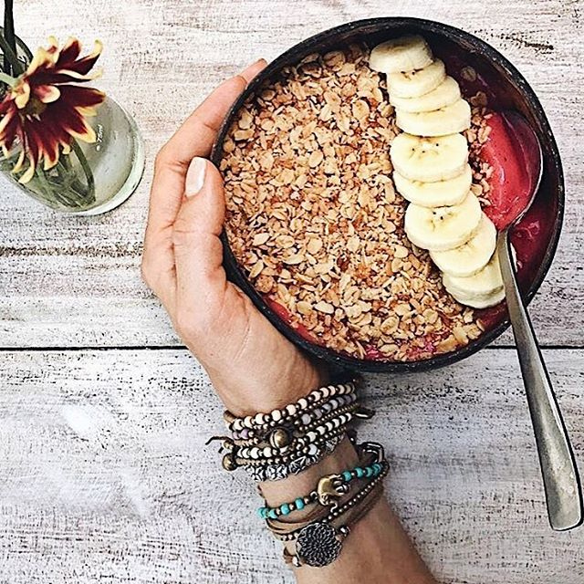Morning started with your favorite Nalu bowl! Always healthy and delicious! 😋💞 #nalubowls via @gurianatureba
