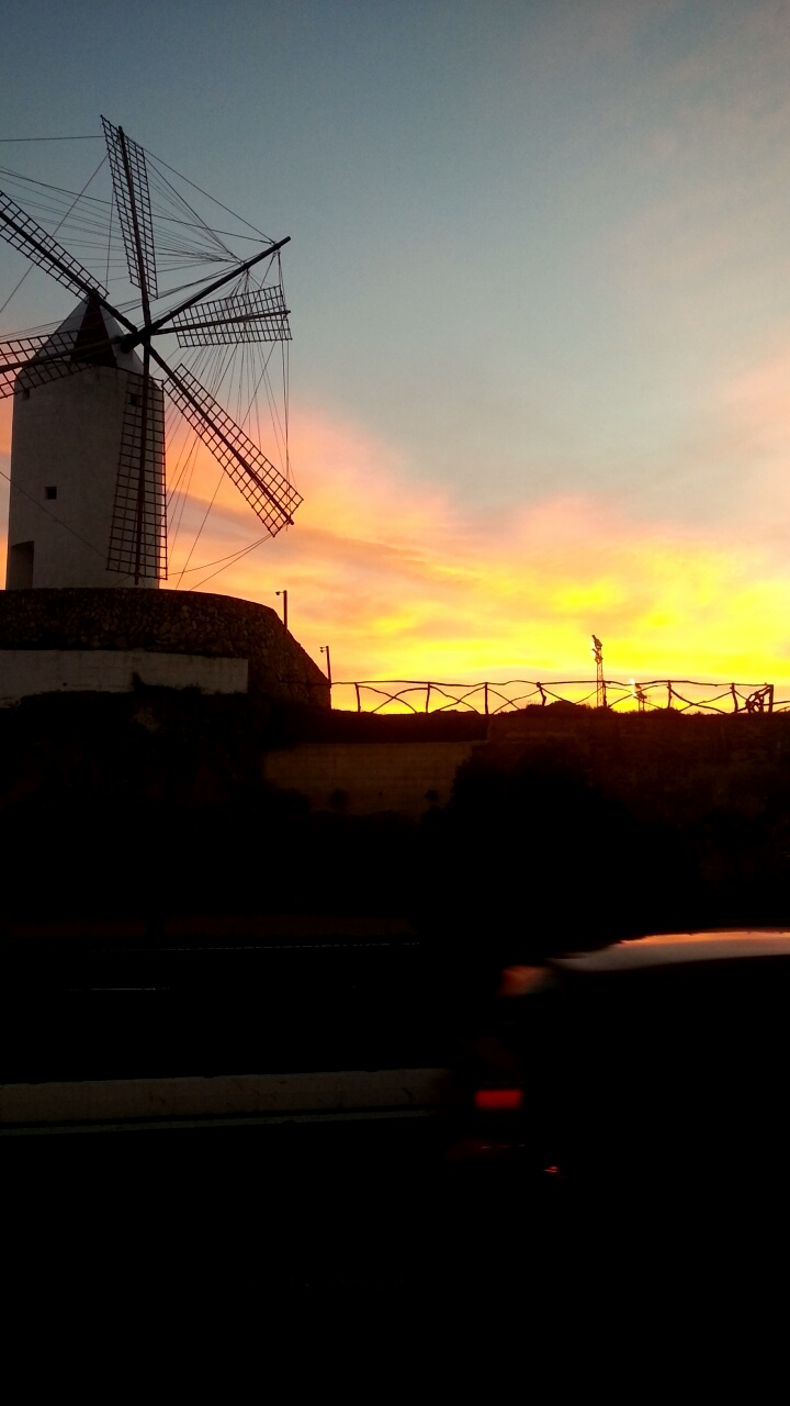 Windmills (x2) spotted in Es Castell