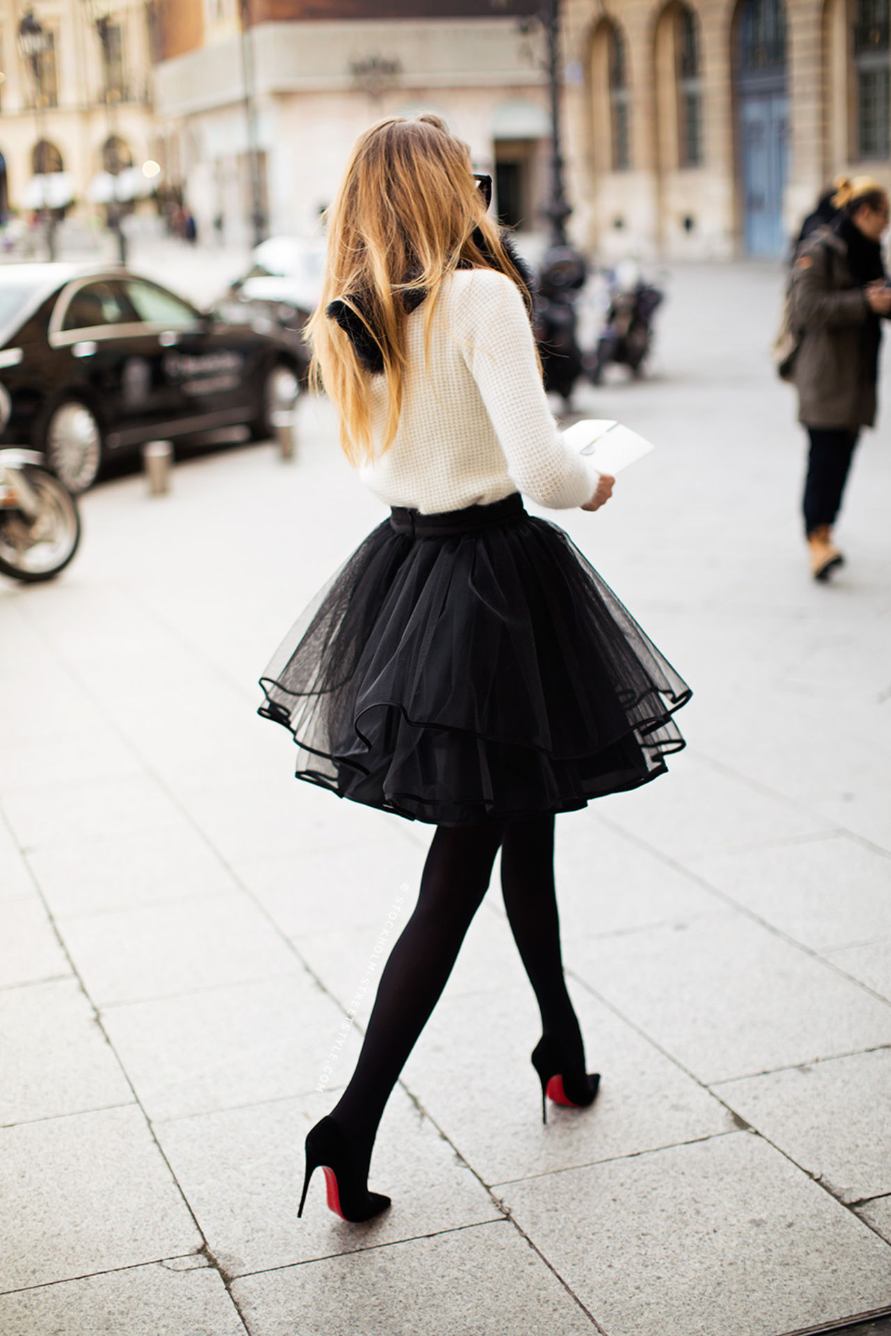 Because sometimes a tutu does just the trick. xo -A