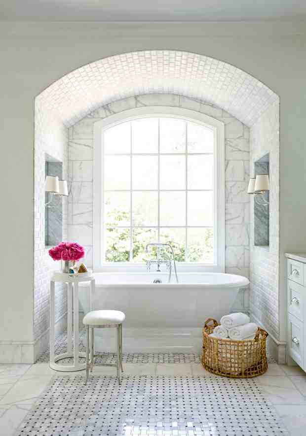 Love this cove for the bath. xo -A