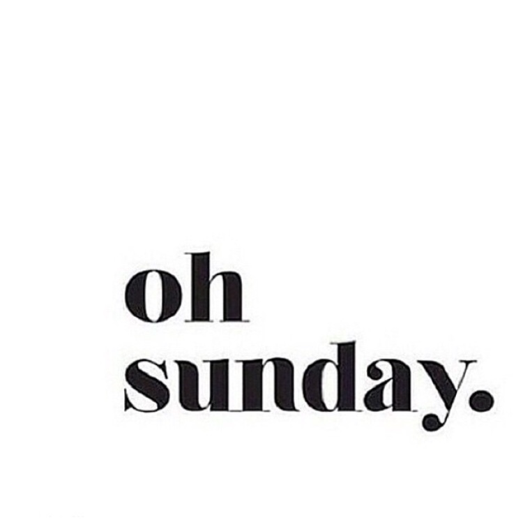 Because this Sunday is literally perfection. xo -A
