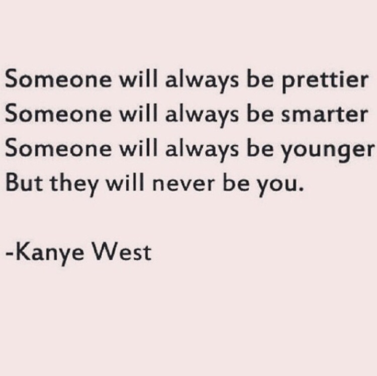 Because Kanye is telling the truth here. xo -A