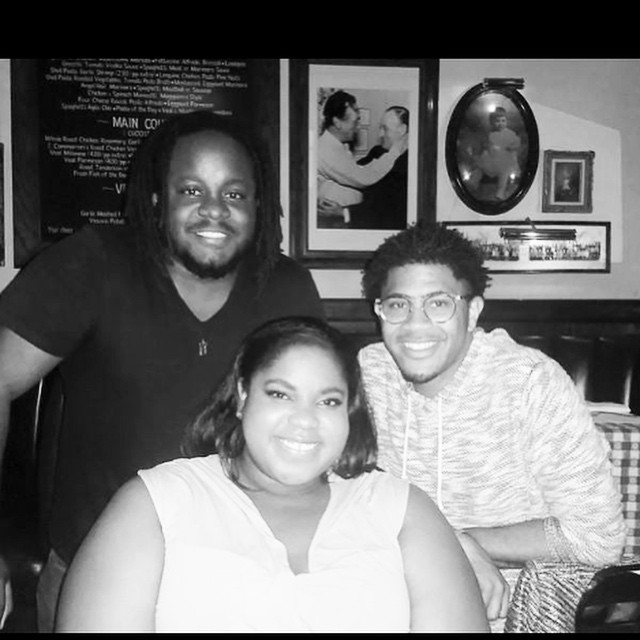 It wouldn't be a birthday without a pic of me and the boys. #30 #MyFamily #CollegeBesties