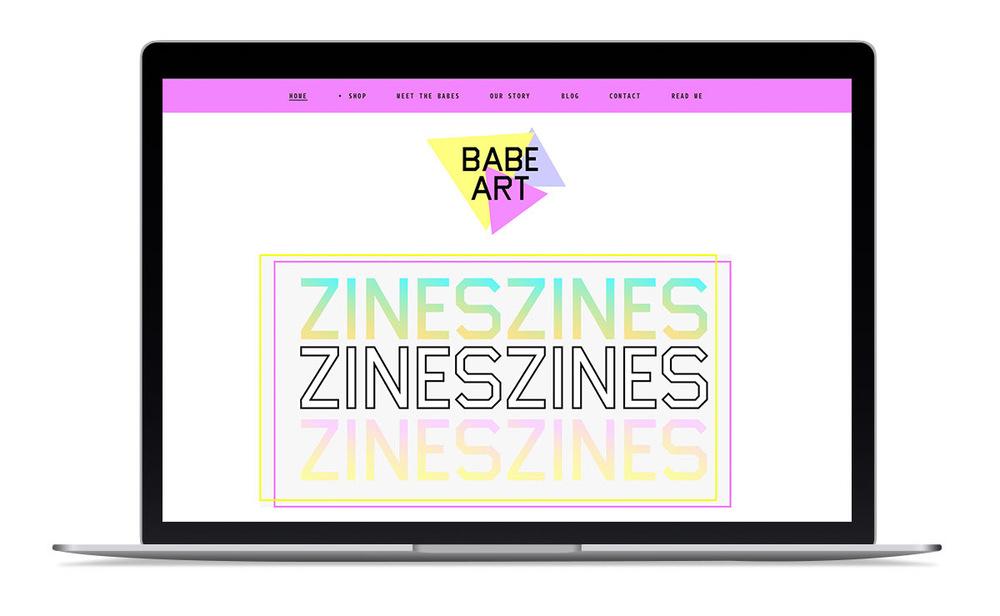 Babe Art Branding