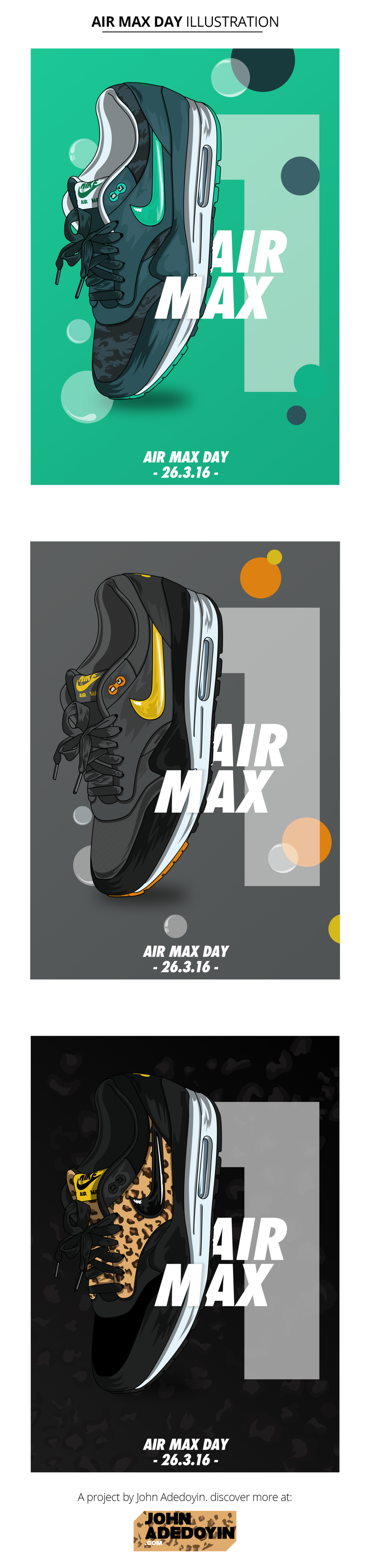 Nike Air Max Day Illustration