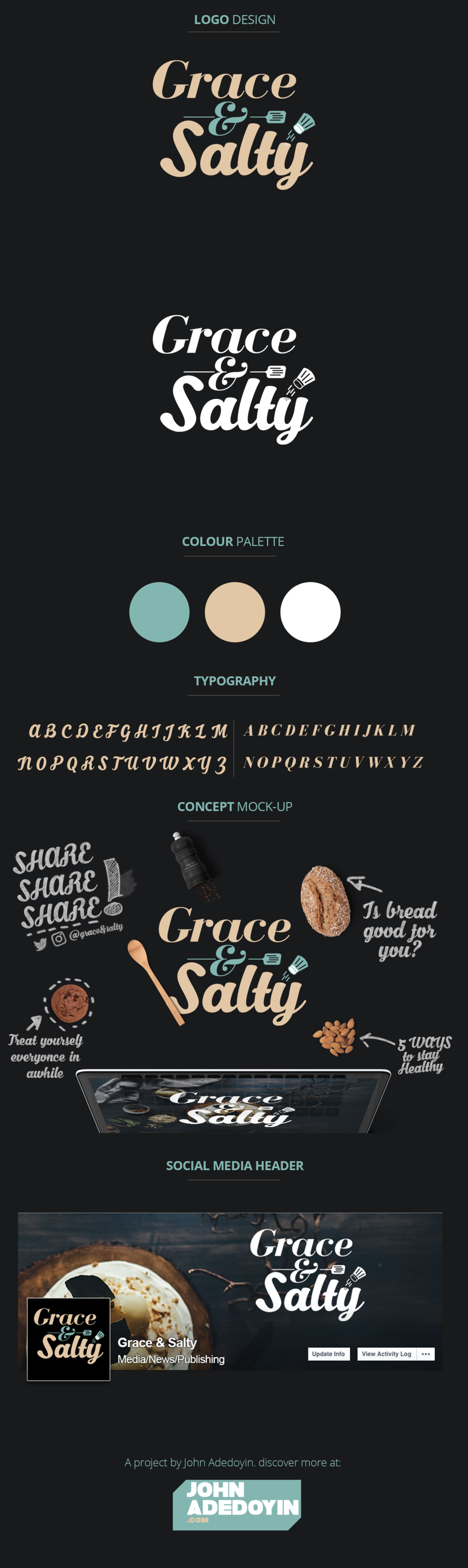 Grace and Salty Branding