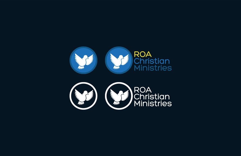 ROA logo - symbol & Monogram