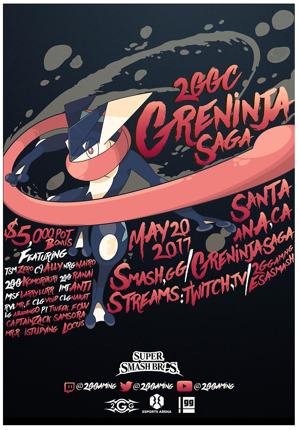 greninha saga poster idea
