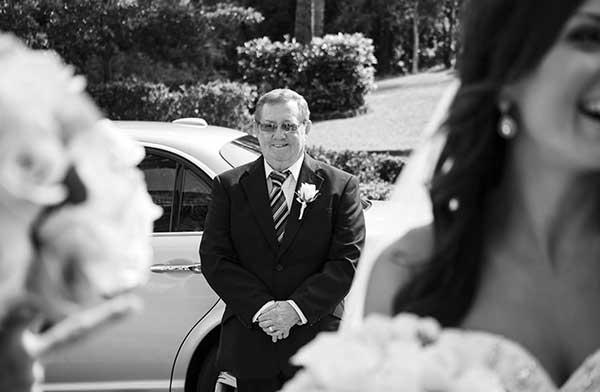"""This father of the bride was a quiet, unassuming gentleman. He was observing his daughter from afar and beaming with pride. Moments like these that can reveal true love"""