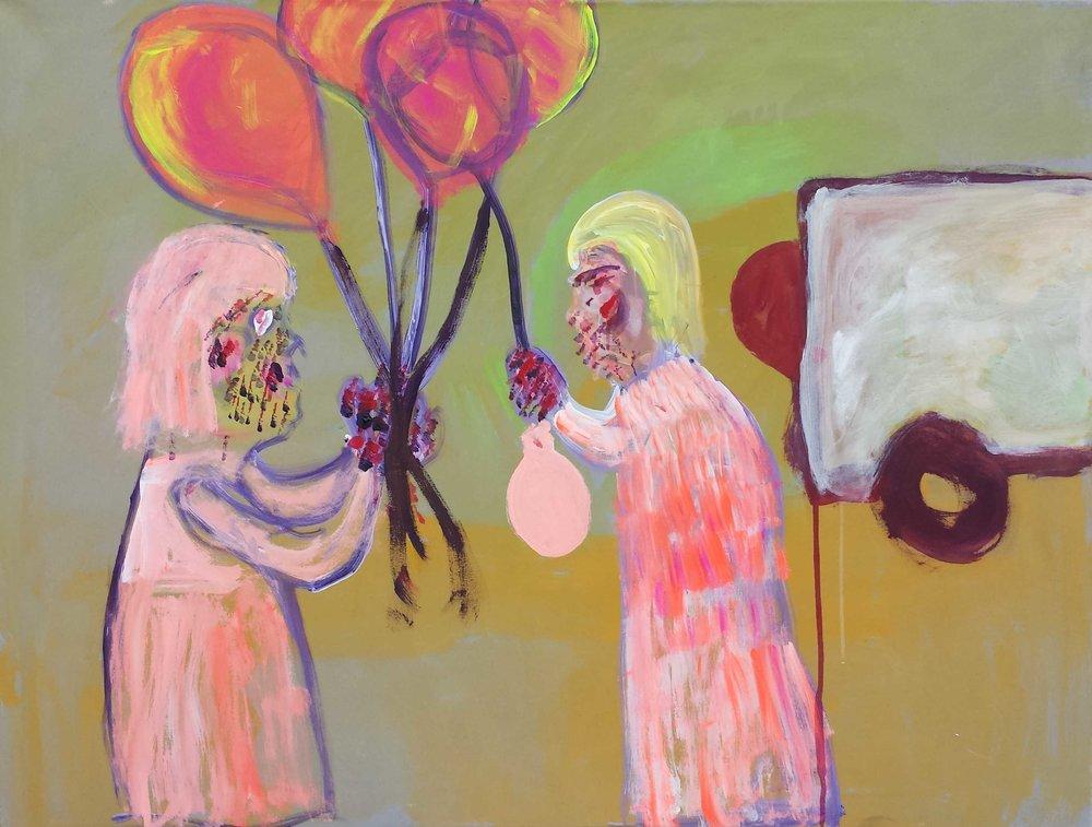 Josef Putz: Fest mit Luftballons: