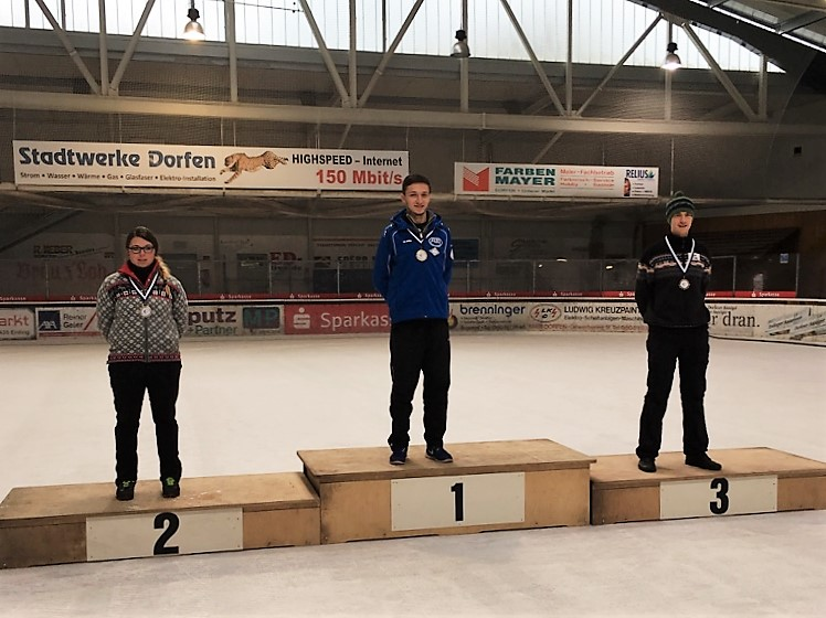 V.l. : Maria Dialler, Markus Mainka und Konstantin Heidacher