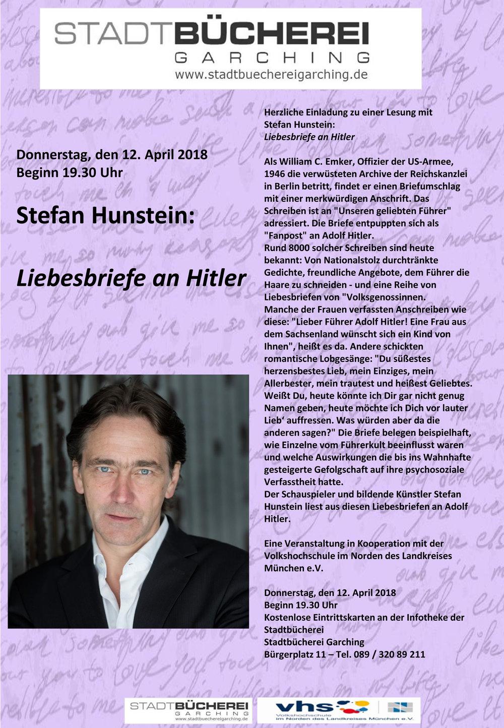Hunstein Liebesbriefe Hitler VHS.jpg