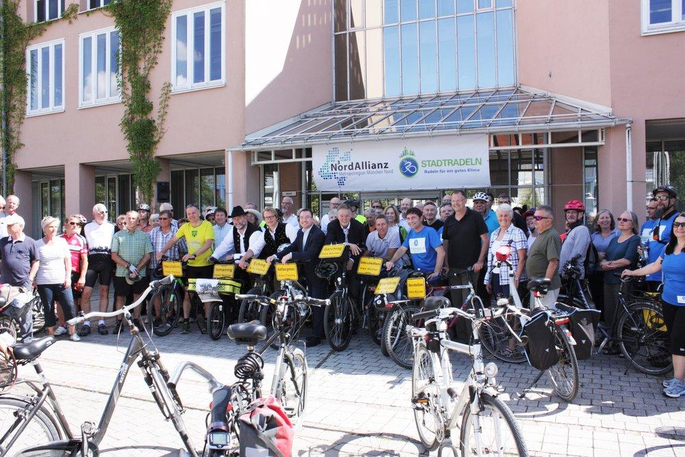Sternfahrt 2017 in GarchingSternfahrt 2017 in Garching