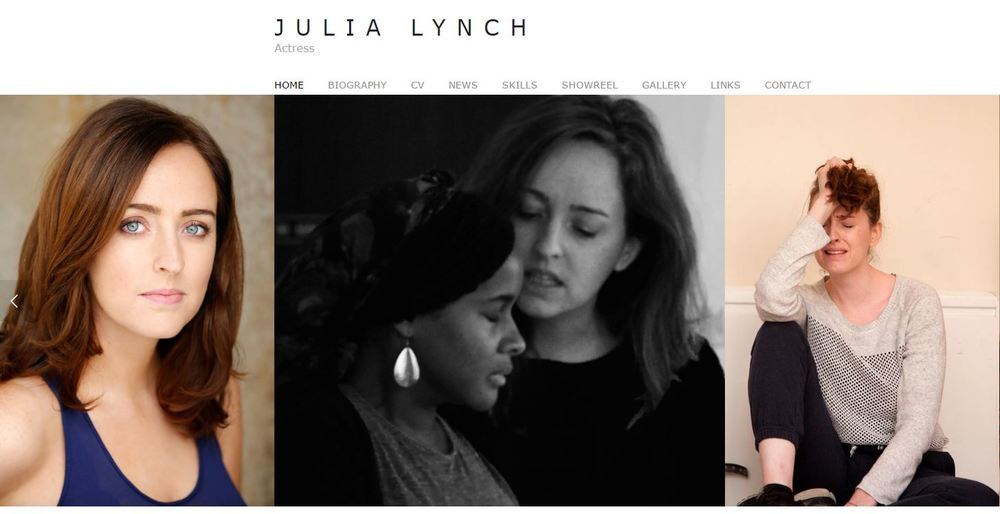 Julia Lynch - Actress www.julialynch.co.uk