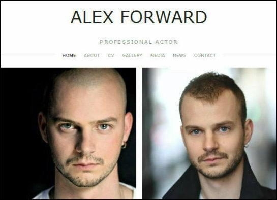 Alex Forward - Actor  www.alexforward.co.uk