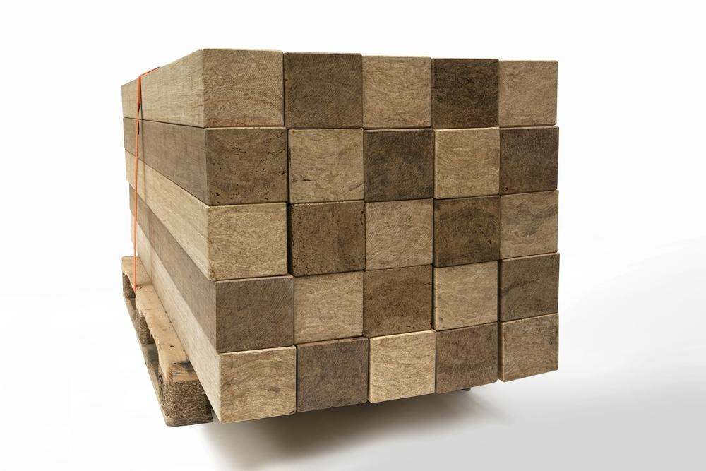Massief bamboe materiaal