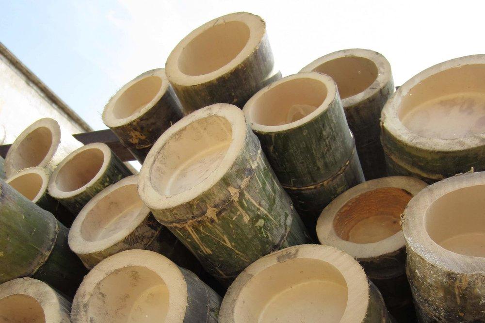 Bamboe duurzaam horeca interieur