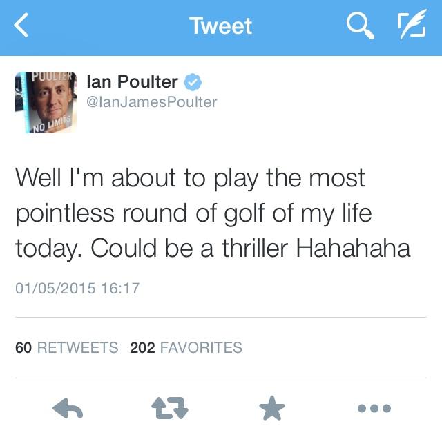 Ian poulter twitter golf by josh josh hirst pga professional