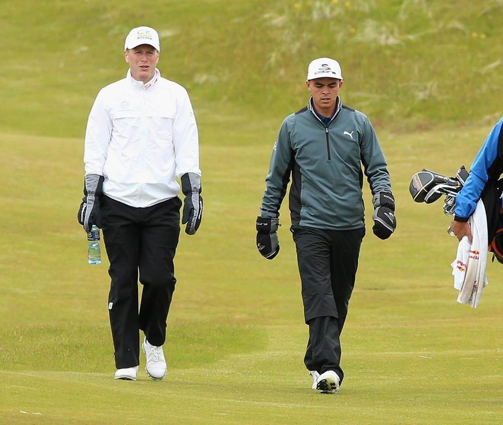 Rickie Fowler Irish open golf by josh hirst pga professional