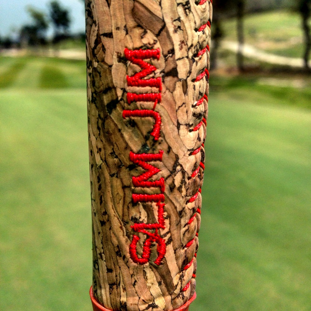 Corktree putter grip review golf by josh hirst ga professional