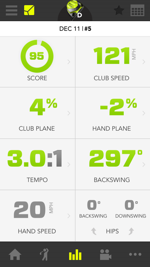 zepp golf swing analsyer golf by josh hirst golf