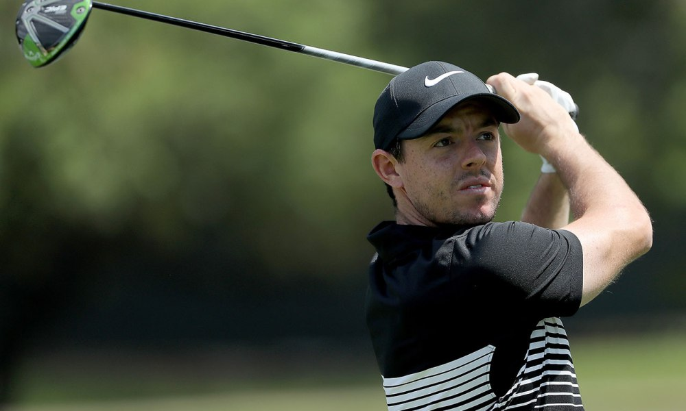 Rory using the Epic driver at the SA Open