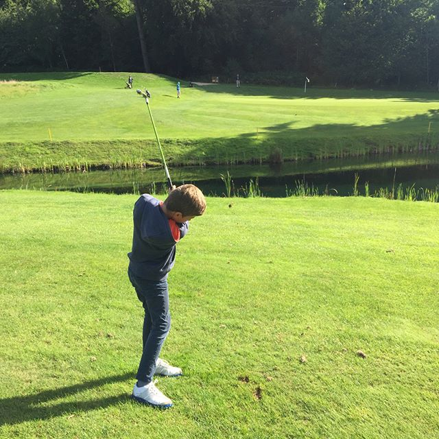 Good fun with the Juniors at the @rushmoregolfclub Camp this week!!