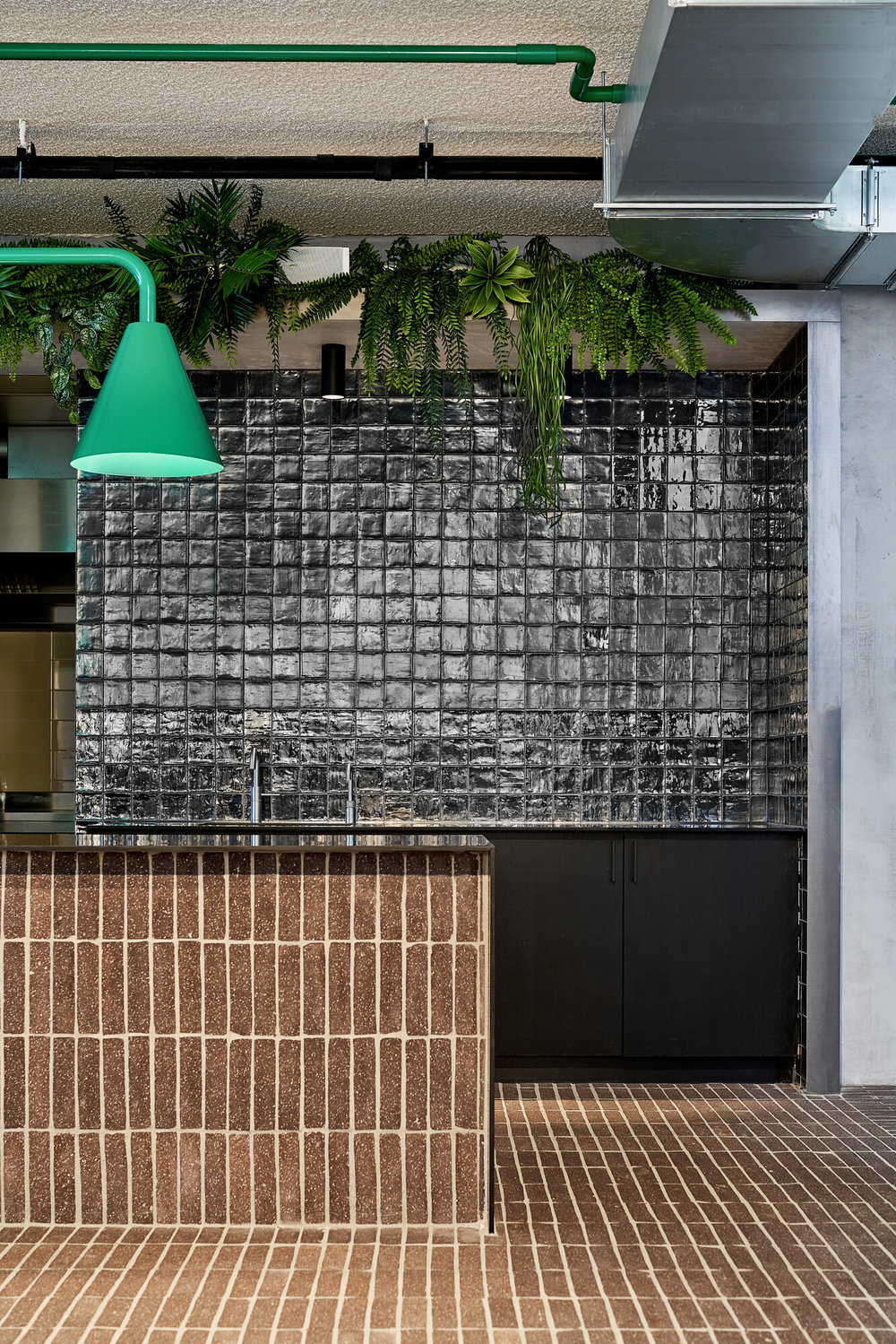 Sustainable pantry of circular brick slips