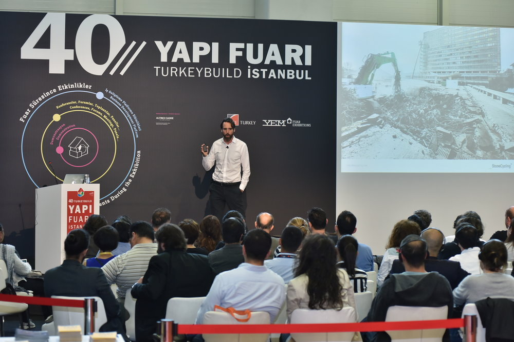 Talk about circularity at the largest construction business fair in Istanbul
