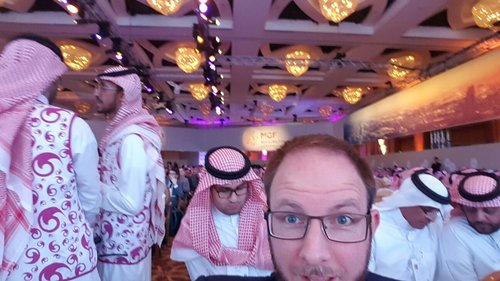 Jasper at Global MiSK forum in Riyadh, Saudi Arabia