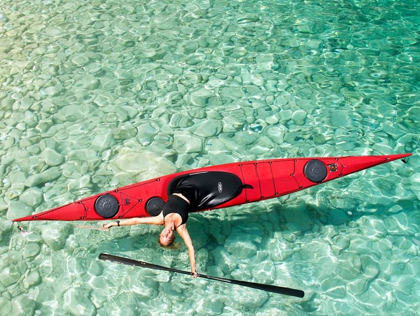 Rolling a Sea Kayak - Greece - 25th to 30th June 2019
