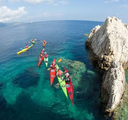 Kayaking in Greece - June, July & September