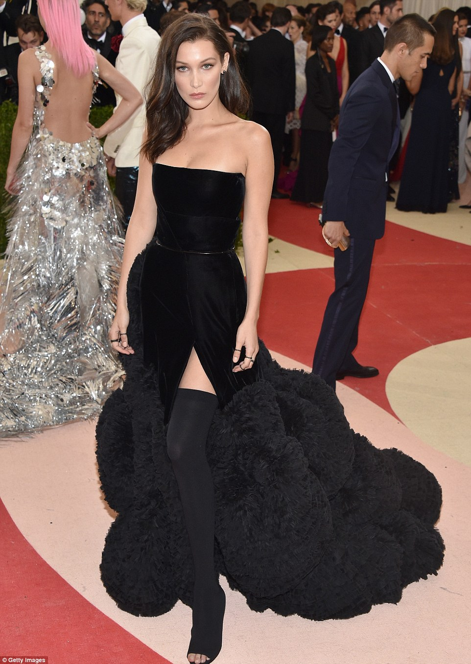 Bella Hadid in Givenchy by RIcardo Tisci Haute Couture