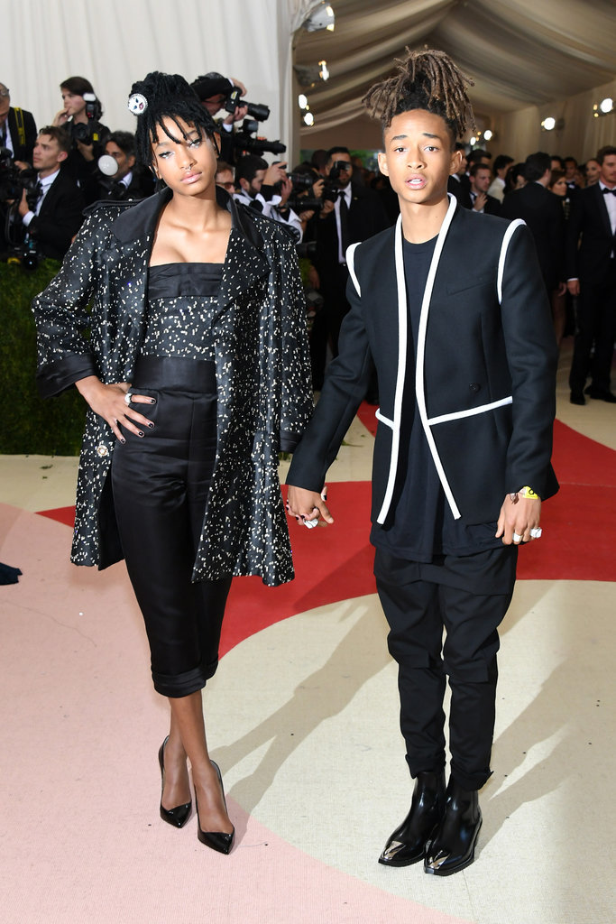 Willow Smith in Chanel  and Jaden Smith in Louis Vuitton