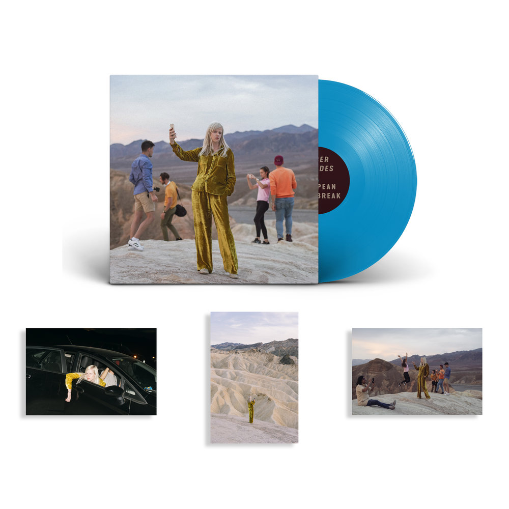 VINYL | BUY £19.99 | €22.50    Limited edition opaque blue vinyl + all pre-orders come with signed print