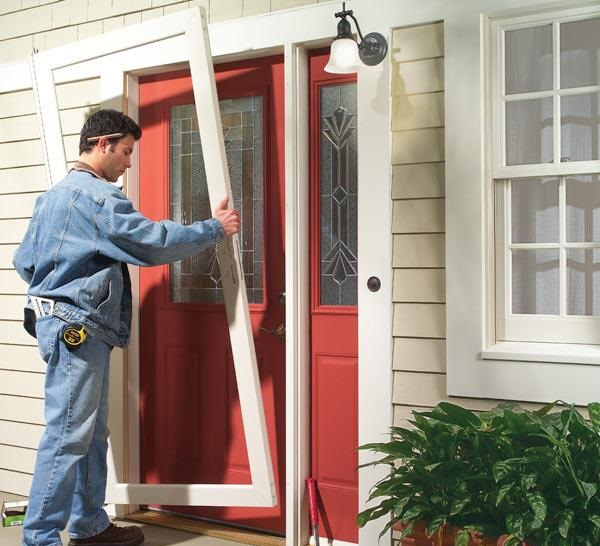 Virginia Glass Doors and Window Repair provides and installs glass storm doors to keep your home safe and secure. Replacing or installing storm doors of ... & Storm Doors u2014 Virginia Glass Doors and Window Repair| (571) 252-7733 ...