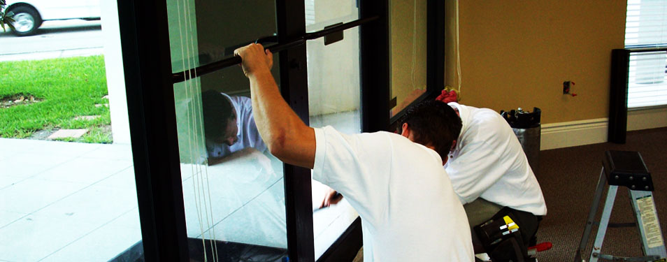 Commercial Glass Door Repair : doors repairs - pezcame.com