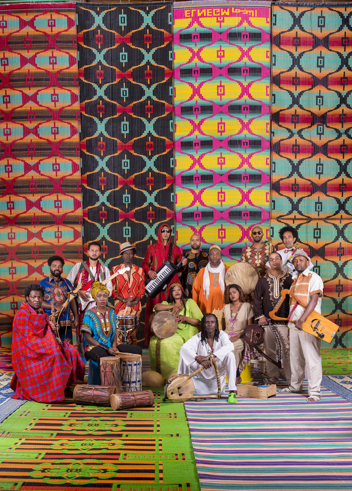 NC State's The Nile Project is an ambitious feat of ethnomusicology, curation, and Afropop rhythms. photos by Habi Girgis.
